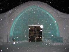 Hôtel de Glace en Laponie