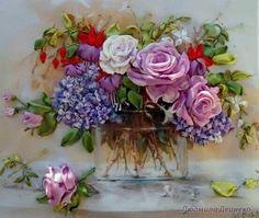 Vaso de lindas flores