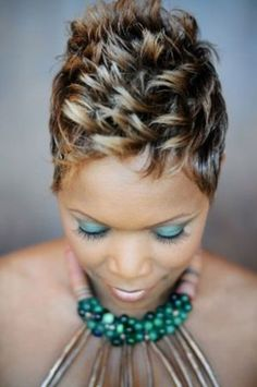 50 Most Beautiful African American Short Hairstyles - Black women are well known for having thick short hair; this nature if hair can accommodate over 50 short hairstyles