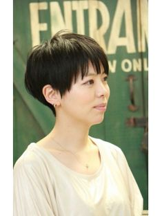 【+~ing deux】黒髪ポップショート☆【松本光司】