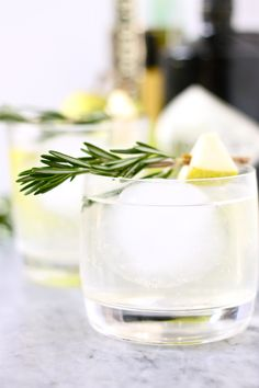 Pear Gin Cocktails