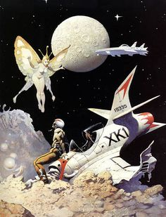 Frazettas Sci-Fi Paintings