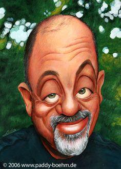 Billy Joel Artist: Patrick Mark Bohm website: