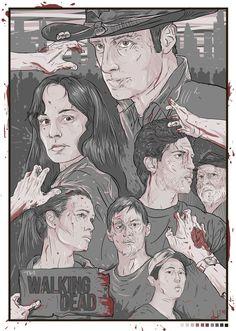The Walking Dead  by Berkay Daglar