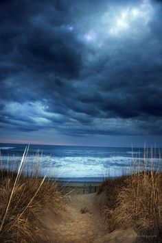 Overcast l Beach Life Beautiful Sky, Beautiful Beaches, Beautiful World, Beautiful Pictures, Foto Gif, Photos Voyages, All Nature, Belle Photo, Wonders Of The World