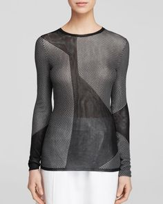 Boss Fanula Contrast Sweater - Runway Collection