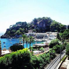 Taormina mare, Sicilia
