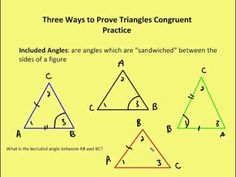 GEOMETRY :: 3.2 Three Ways to Prove Triangles Congruent (Video Lesson)