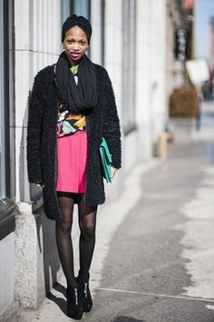nima ford model from new york | new york fashion week fw13