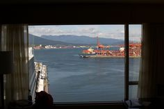 View from Fairmont Waterfront room Vancouver by duane160, via Flickr