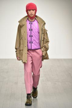 Pronounce Autumn/Winter 2018 Menswear | British Vogue pink. pink, pink!