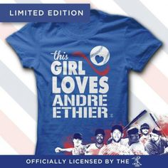 f93f08ac1bf This girl loves Andre Ethier  losangelesdodgers  los  angeles  dodgers   clothes Dodgers