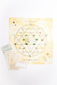"""Unblock the flow of abundance, break free from the scarcity mindset and be a magnet for more. With the Abundance Crystal Grid you will open your heart and mind to receive what has always been meant for you. The use of sacred geometry and crystals helps to amplify your intentions, support your visions of success and makes it easier to manifest the life of your dreams! INCLUDES... 20 Crystals: Citrine, Clear Quartz, Aventurine Sri Yantra Sacred Geometry Mat Simple """"HOW TO"""" Guide Detailed Info for Declutter Your Mind, Focus Your Mind, Sri Yantra, Heart And Mind, Crystal Grid, Heart Chakra, Sacred Geometry, Clear Quartz, Plexus Products"""