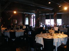 Intimate reception in Moulin's Chouteau Room www.moulinevents.com
