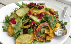 Roasted Winter Potato and Squash Salad by modernfarmer #Salad #Potato #Squash