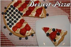 Yummy Dessert Pizza~ Satisfying Eats