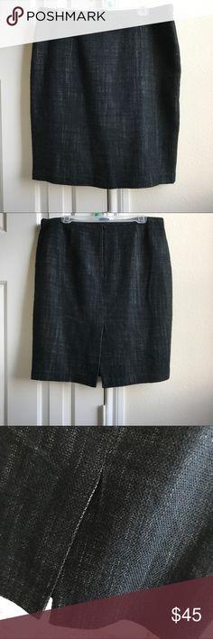 Michael Kors Black Tweed Work A-Line Mini Skirt Worn once. MICHAEL Michael Kors Skirts A-Line or Full