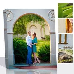 Make your Anniversary special with this portrait painting!