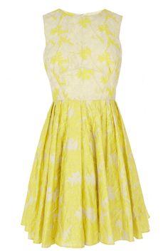 Amaline Jacquard Dress #£135 #vintagedress