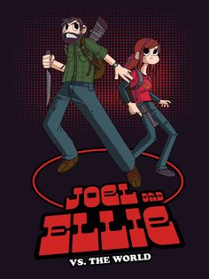 I just made a Last of Us/Scott Pilgrim cross-over. What do you guys think? :) - Imgur   Nailed it