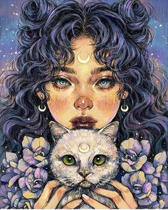 Image discovered by Find pictures and videos about art, cats and drawings . - Image discovered by Find pictures and videos about art, cats and drawings … – – - Psychedelic Art, Pretty Art, Cute Art, Art Sketches, Art Drawings, Drawing Art, Drawing Ideas, Tattoo Sketches, Indie Drawings