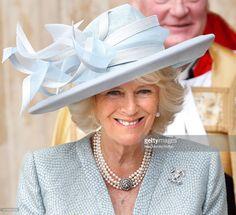 Beautiful Duchess of Cornwall at VE Day celebrations.