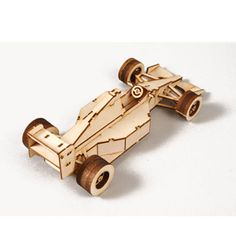 Wooden Model Transportaion Kits Junior Series- Scale models Racing Car
