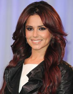 Cheryl Cole Red Hair Loreal