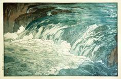 Parce que les estampes sur bois de Hiroshi Yoshida traversent les siècles avec sérénité.