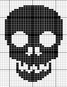 skull knit pattern - Google Search
