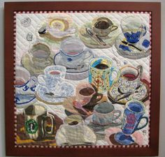 Tea Quilt- 2012 Toyko International Quilt Festival