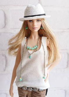 Ooak Dolls, Barbie Dolls, Doll Wardrobe, Barbie Life, Natalia Vodianova, Barbie Friends, Barbie Clothes, Doll Accessories, Fashion Dolls