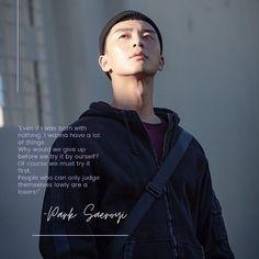 Park Saeroyi quotes on Itaewon Class drama Class Quotes, K Quotes, Film Quotes, Best Quotes, Quotes Drama Korea, Korean Drama Quotes, Drama Funny, Drama Memes, Life Quotes Wallpaper