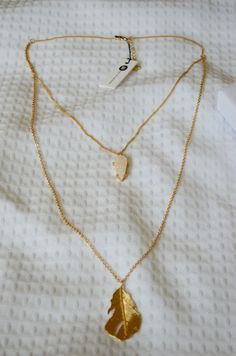 My Stitch Fix box # 5 and Review, July 2016 - Bay to Baubles Dover Stone and Feather Necklace http://thepeanutfarm.blogspot.com/2016/07/stitch-fix-5-eh-we-can-do-better.html