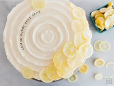 Lemon Poppy Seed Cake Recipe — Fix Feast Flair