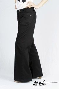 Women's Organic All-Niter Loose Fit Black Sateen WAS £65 NOW £40 Available now at Monkeegenes.com