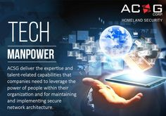 #ACSGCorp understands the complex technological needs of today and offer extensible services that are built around your exact requirements.