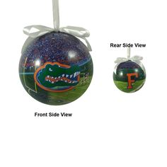 Florida Gators Photoball Christmas Ornament
