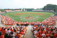 Coach Jack Leggitt has continued the winning tradition at Clemson and Doug Kingsmore stadium has given the Tigers a great home field advantage. Description from recruitingcycle.com. I searched for this on bing.com/images
