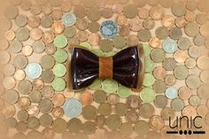 Pajarita de piel Unic #pajaritadepiel #leatherbowtie
