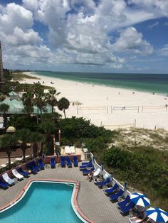 Back in a hotel on the beach - St. Pete Beach, Florida; July, 2014