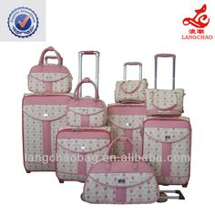 2014 best selling factory cheap luggage sets
