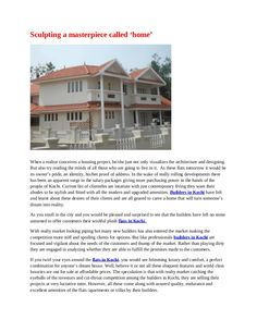 Villa For Sale in Thrissur http://www.sichermove.com/real-estate-property-poonkunnam-thrissur-kerala-8303.html