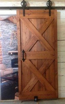 ready to assemble door for barn door hardware, doors, Finished door
