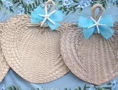 Beach Wedding Custom Starfish Fan