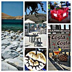 Costa Costa Beach Bar Must visit Must try Must meet us Summer sea sun  Lemnos Island Greece