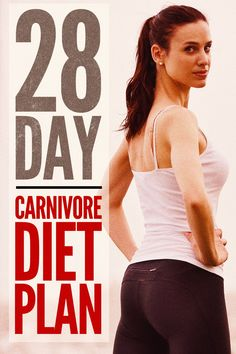 Ready to try out the carnivore diet? Have a few questions? We answer some questions and I reveal the 28 day plan I used to get started. Best Diet Foods, Healthy Diet Recipes, Healthy Diet Plans, Keto Recipes, Healthy Eating, Low Fat Diets, Easy Diets, Meat Diet, Diet Challenge