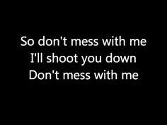 Temposhark - Don't Mess With Me (lyrics) - YouTube