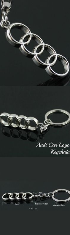 Audi Car Logo Keychain! Click The Image To Buy It Now or Tag Someone You Want To Buy This For. #Audi