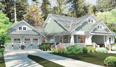 Plan 16887WG: 3 Bedroom House Plan With Swing Porch